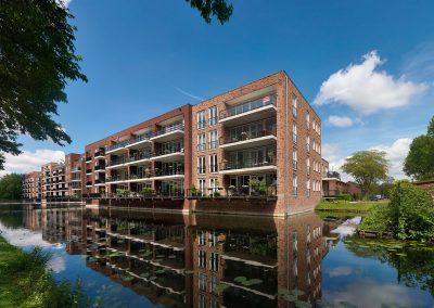 De Waterlijster, 94 appartementen, Krimpen aan den IJssel