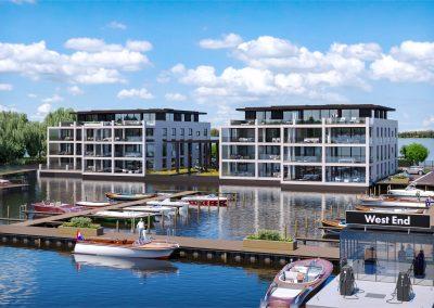 West-End Residence, 14 luxe appartementen, Loosdrecht