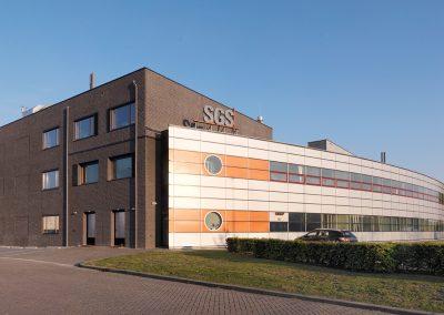 SGS, nieuwbouw kantoor-labruimte, Spijkenisse