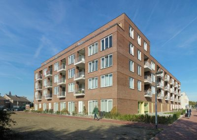 Patrimonium, 40 appartementen, Barendrecht