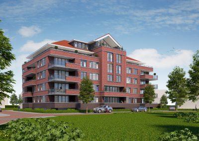 Residence Oranjeburgh, 21 appartementen, Schiedam
