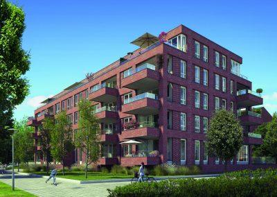 De Monseigneur, 27 appartementen, Den Haag