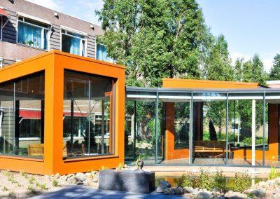 WZC Crabbehof, renovatie woonzorgcomplex, Dordrecht