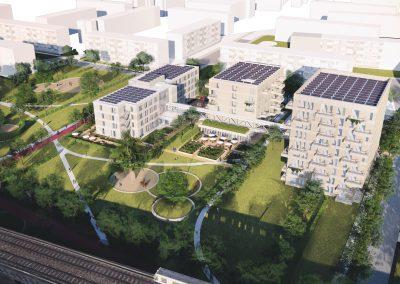 Amandelhof, Nieuwbouw woonzorgcomplex in Capelle a/d IJssel