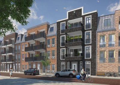 De Triangel, 27 woningen + 47 appartementen, Alphen aan den Rijn