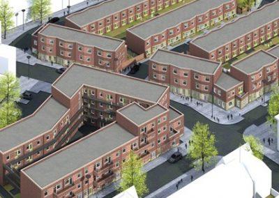 Haagse Hendrik, 154 woningen, den Haag