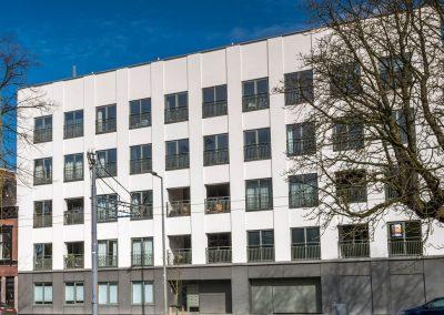 Noordsingel, transformatie kantoor naar loftwoningen-penthouses, Rotterdam