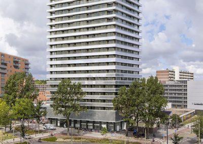 Torenhove, transformatie 104 appartementen, Delft